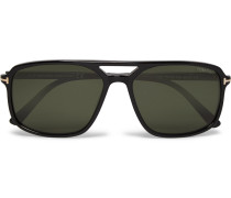 Terry Aviator-style Acetate Sunglasses