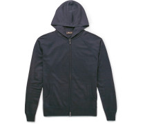 Cashmere And Silk-blend Zip-up Hoodie