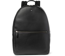 Full-Grain Leather Backpack