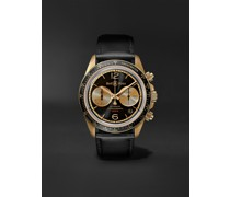 BR V2-94 Bellytanker Bronze Limited Edition Automatic Chronograph 41mm Bronze and Leather Watch, Ref. No. BRV294-BC-BR/SCA