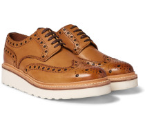 Archie Wedge-sole Leather Brogues