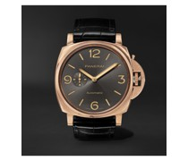 Luminor Due 3 Days Automatic 45mm Rose Goldtech and Alligator Watch