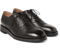 Grained-leather Oxford Shoes