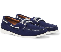 Downeast Suede Boat Shoes