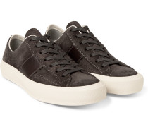 Cambridge Leather And Suede Sneakers