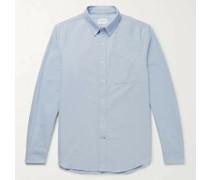 Button-Down Collar Cotton Oxford Shirt