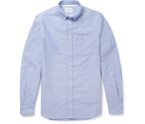 Anton Button-Down Collar Cotton Oxford Shirt