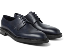 Croft Panelled Leather Oxford Shoes