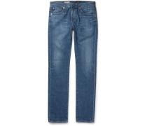 Matchbox Slim-fit Rinsed-denim Jeans