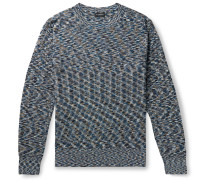 Space-Dyed Cotton Sweater