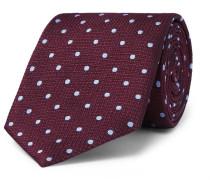 8cm Polka-dot Mulberry Silk Tie