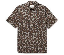 Adam Printed Cotton-Voile Shirt