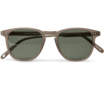 Brooks 47 D-frame Matte Acetate Sunglasses