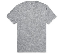 Slub Cotton-blend Jersey T-shirt