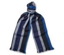Striped Wool Scarf