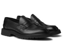 James Leather Loafers