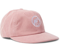 Embroidered Cotton-corduroy Baseball Cap