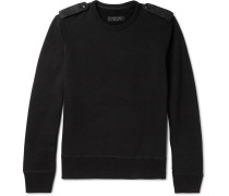 Trooper Cotton-blend Jersey Sweatshirt