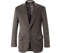 Grey Cotton-corduroy Blazer