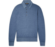 Slim-fit Wool Polo Shirt