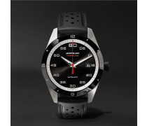 Timewalker Date Automatic 41mm Stainless Steel, Ceramic And Rubber Watch