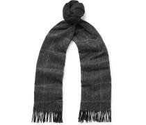 Hereno Dégradé Virgin Wool And Cashmere-blend Scarf