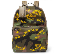 + Zandra Rhodes Camouflage Canvas Backpack