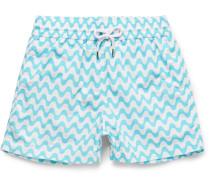 Sidewalk Short-length Printed Swim Shorts