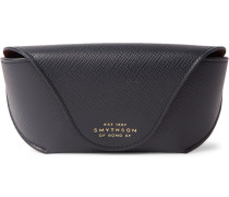 Panama Cross-grain Leather Sunglasses Case