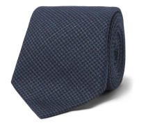 7cm Linen, Wool And Silk-blend Tie
