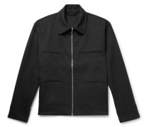 Marque Cotton-blend Twill Jacket