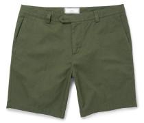 Slim-fit Cotton-gabardine Shorts