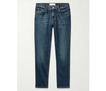 Slim-Fit Organic Denim Jeans