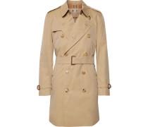 Kensington Cotton-gabardine Trench Coat - Beige