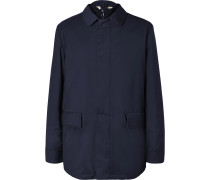 Storm System Virgin Wool-Blend Car Coat with Detachable Quilted Shell Liner