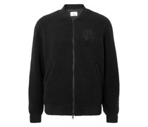 Stadium Logo-Embroidered Polartec Fleece Bomber Jacket