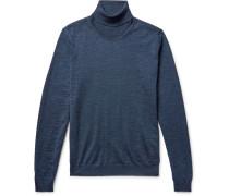 Musso Mélange Merino Wool Rollneck Sweater