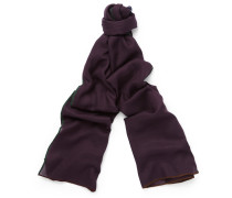 Winter Four In Hand Cashmere And Silk-blend Scarf