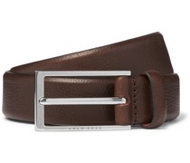3cm Carmello Full-Grain Leather Belt