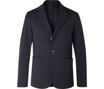 Piero Orza Twill Suit Jacket