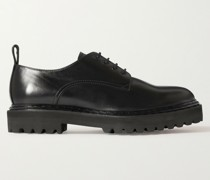 Pistols Leather Derby Shoes
