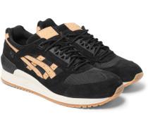 Gel-respector Mesh And Suede Sneakers