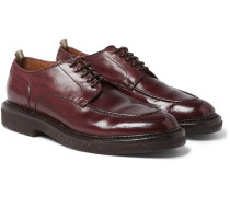 Stanford Polished-leather Derby Shoes