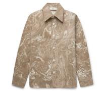 Mats Printed Cotton Overshirt