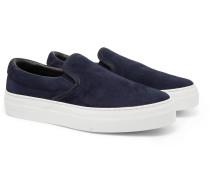 Garda Suede Slip-On Sneakers