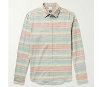 Reversible Striped Cotton Shirt