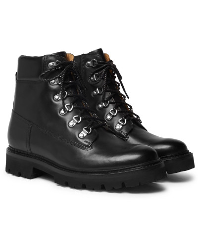 Rutherford Leather Boots - Black