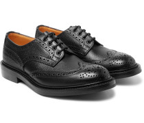 Ilkley Pebble-grain Leather Wingtip Brogues
