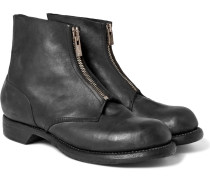 Culutta Distressed Leather Boots