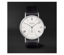 Ludwig Neomatik 41 Limited Edition Automatic 40.5mm Stainless Steel and Leather Watch, Ref. No. 291